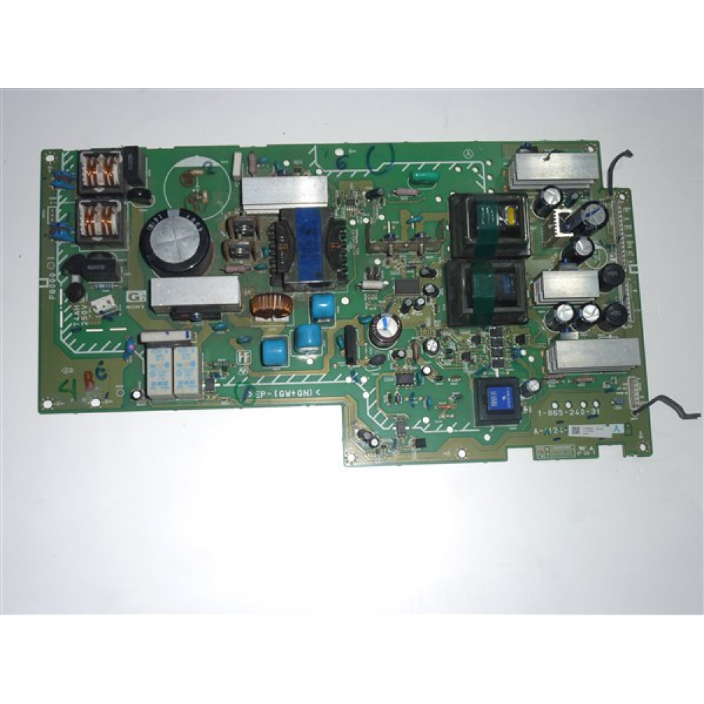 1-865-240-31, A-1124-146-A, A-1147-493-A, SONY POWER BOARD