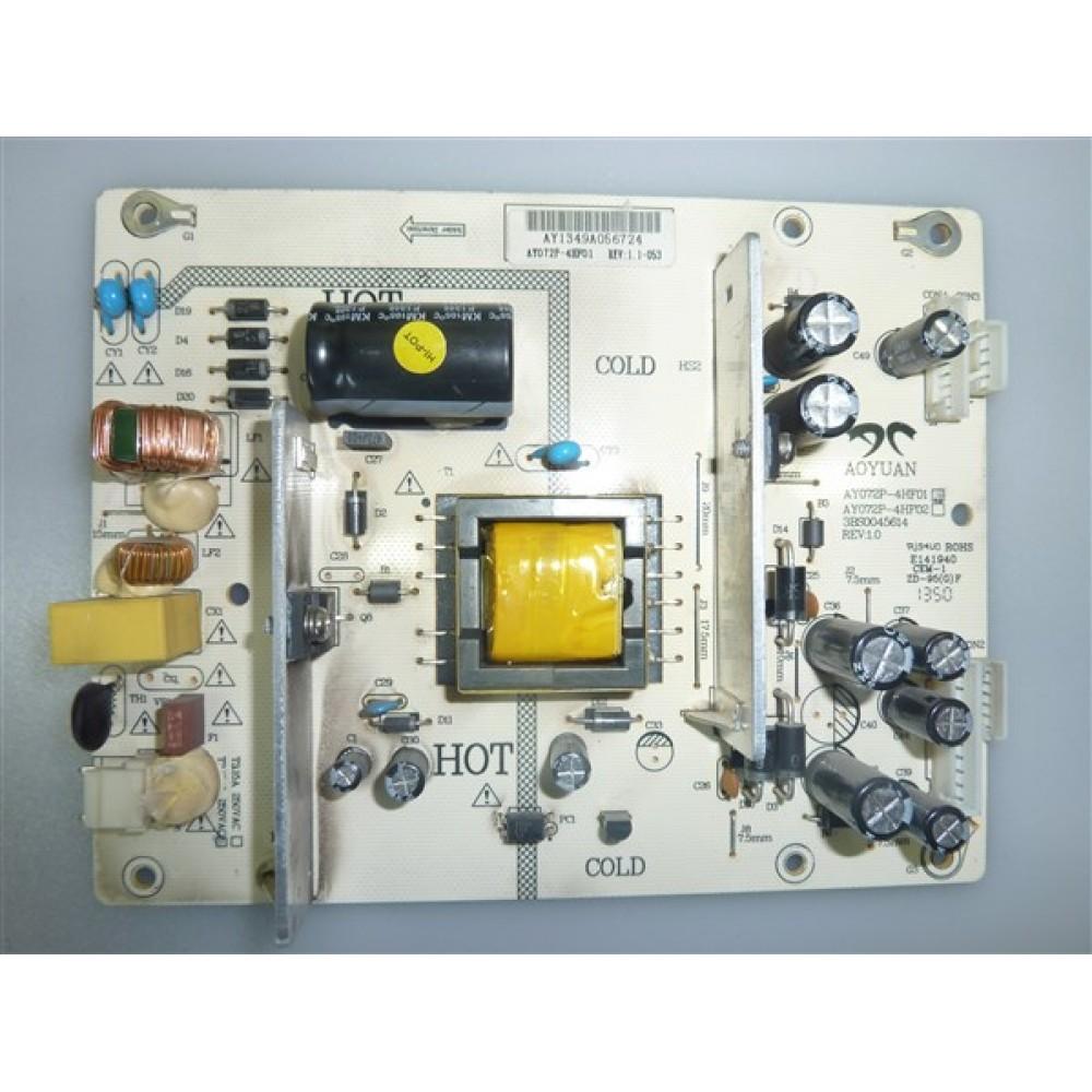 AY072P-4HF01, AY072P-4HF02, 3BS0045614, REV:1.0, SUNNY POWER BOARD