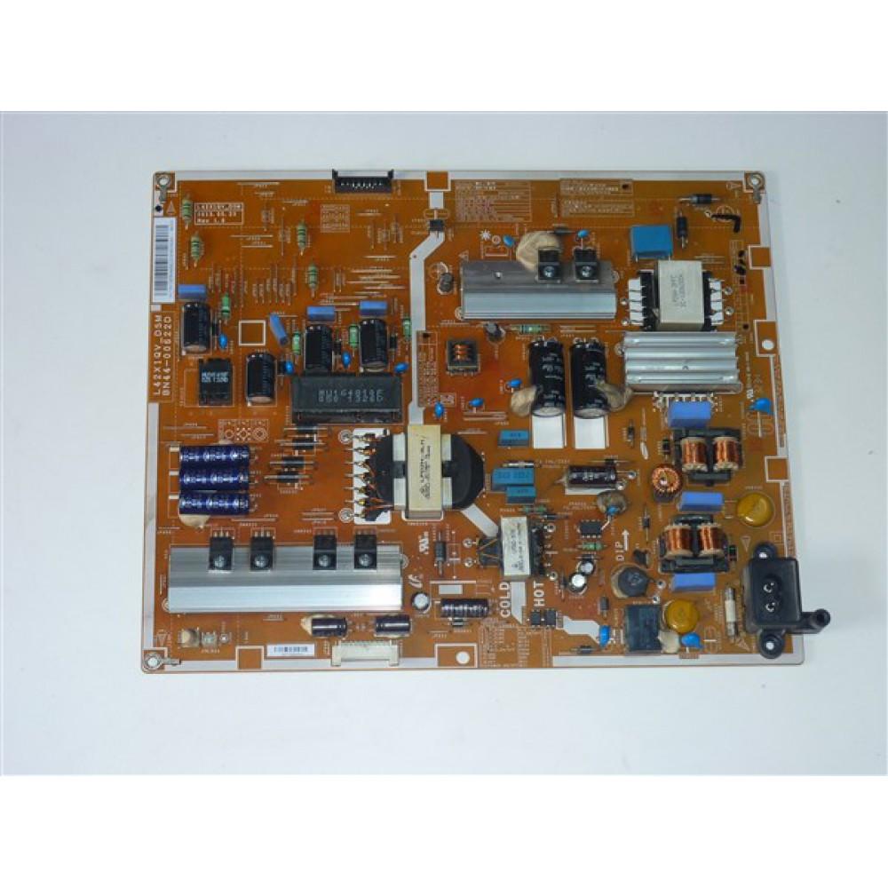 BN44-00622D, L42X1QV_DSM, SAMSUNG POWER BOARD