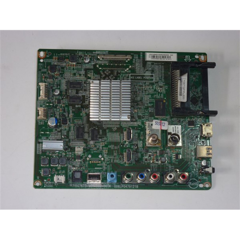 715G7673-M01-000-005K, PHİLİPS MAİN BOARD