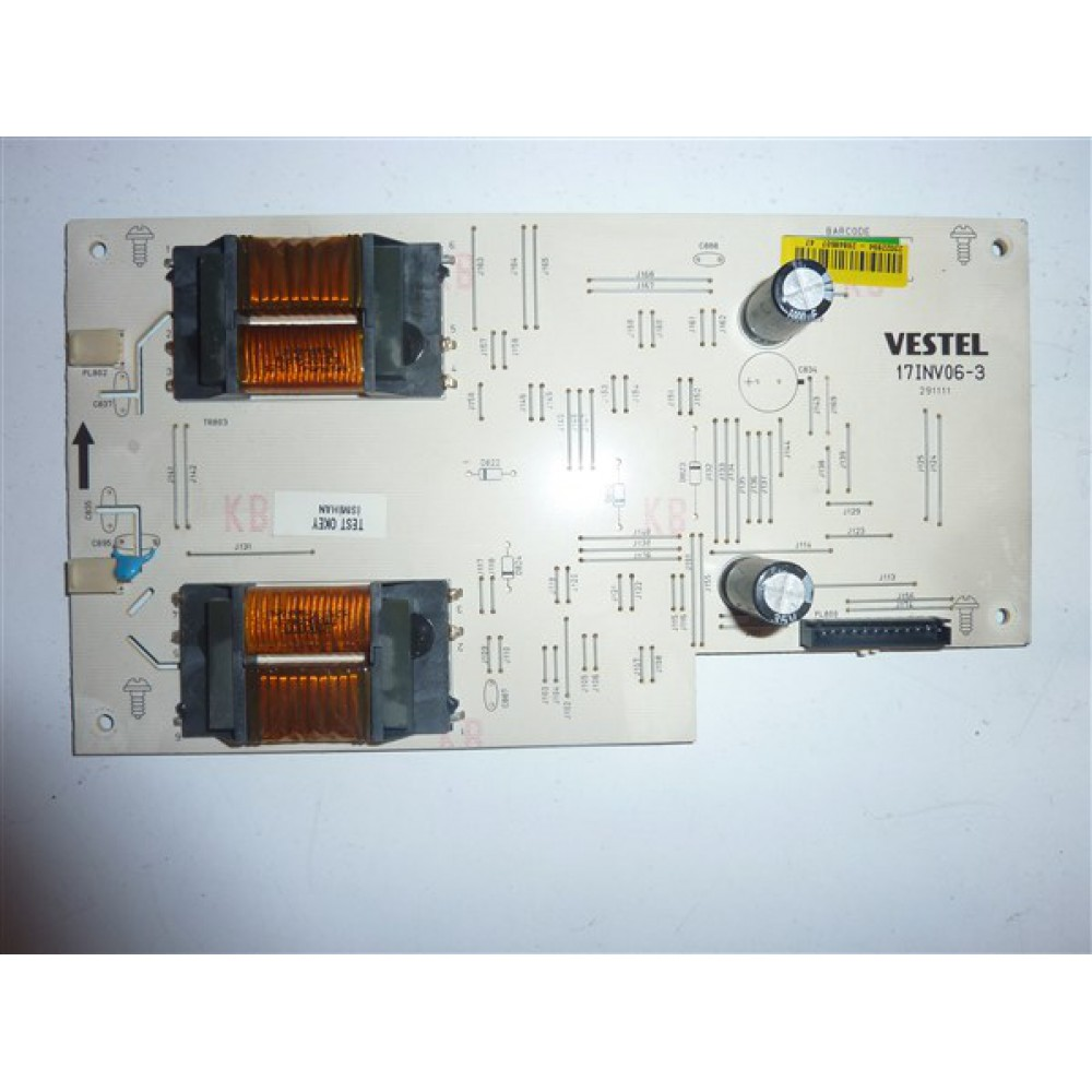 17INV06-3, 23022894, 26848507, VESTEL INVERTER BOARD